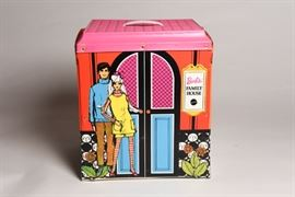 Vintage Barbie Family House Doll Vinyl Case