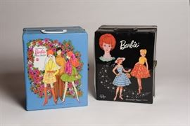 Vintage 1964 Barbie Vinyl Carry Case