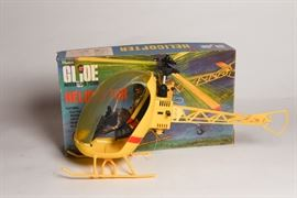 Vintage GI Joe Helicopter