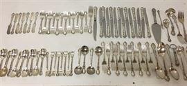 GORHAM CHANTILLY Sterling Silver 80 piece set