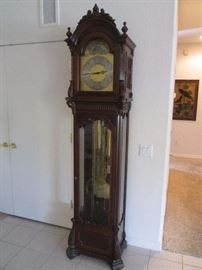 "Grandfather Clock by Colonial.  Size:  24"" wide X 87"" high.  Circa 1976"