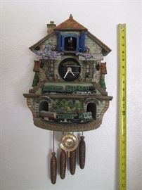 Wide variety of Cuckoo Clocks, all in excellent condition.