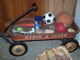Vintage Radio Flyer