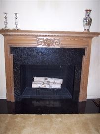 17th Century Carved Mantel