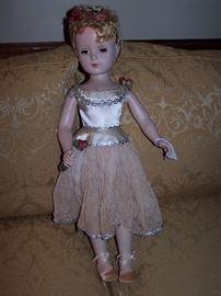"Madame Alexander Doll ""Ballerina"""
