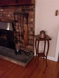 Vintage fireplace accesories