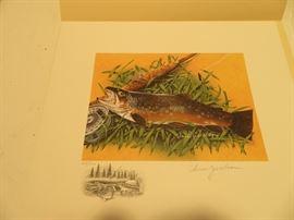 Trout Print
