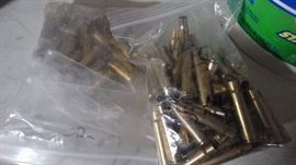 Huge lot of used brass casings- Various calibers