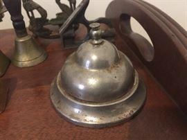 Vintage front desk service bell