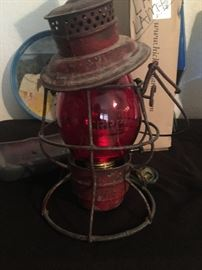Old Chicago Central rail road lantern