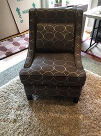 "Another great chair for sale - 30""d x 25.5""w asking $80"
