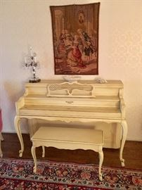 Sohmer and Co. upright piano