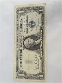 $1 Silver Certificate