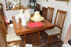 furntiure table and chairs