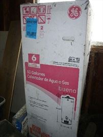 GE 50 gal water heater.