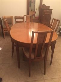 Dining Table and Chairs $200