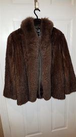 Goldsmith Waist Length Mink Coat