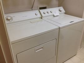 Used washer & dryer.  I ran both today through a complete cycle.