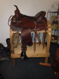 "Big Horn 18"" Flextree Saddle"