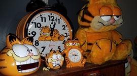 Garfield digital clock