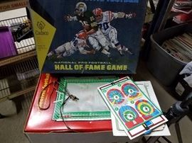Vintage Electronic Football Game. Not sure how this works as I was into more girly things, but it's in very good condition.
