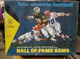 Vintage Cadaco Hall Of Fame Electronic Football Game. All in very good condition.