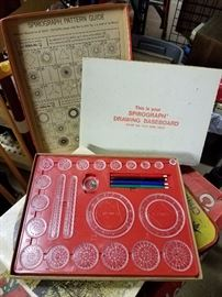 Vintage Spirograph and it still has all the original components, minus the paper, but I'm sure you have some at home. Show your children or grandchildren what you did before video games came along.