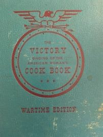 Vintage, Victory Cookbook