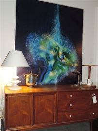 One of TWO Robert Mazur Oil Paintings ... both of the oils in this sale were made for this family and have NEVER been offered for sale until NOW !