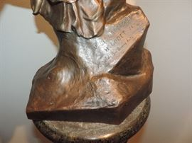 Detail of Godet Bronze