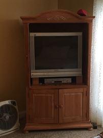 Very nice TV Cabinet......TV & DVD player