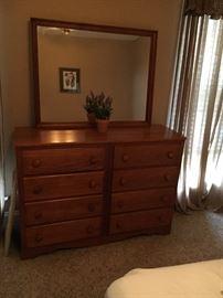 Nice Dresser & Mirror