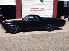 1971 fully restored Chevy El Camino with 350 engine, automatic