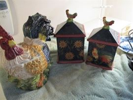 More of the rooster collection