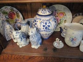 Part of the blue & white collection