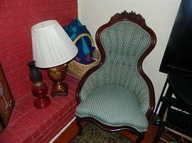 Vintage Victorian Chair