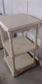 3 Tiered Wood Shelf