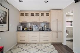 Beautiful built-in cabinetry