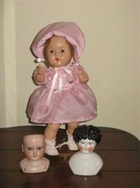 """Vintage Bisque Madame Alexander / """"Mabel Doll"""""""