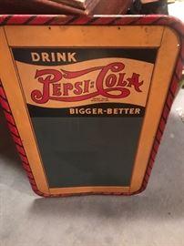 Very rare Pepsi advertising