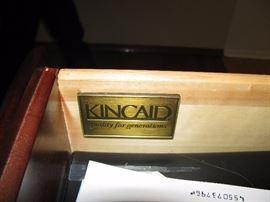 KINCAID FURNITURE DINING ROOM SET