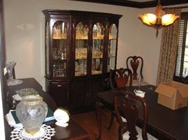 DINING ROOM SET , LIGHT FIXTURE NOT FOR SALE