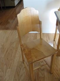 CHAIR ONE OF 4 OF KITCHEN SET
