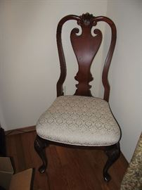 ONE OF 6 CHAIRS, 2 ARM 4 SIDE