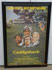 Caddyshack Poster  Signed by Chevy Chase
