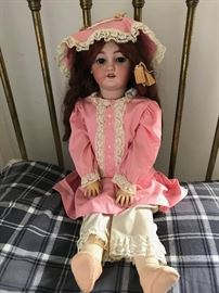 Antique C. M . Bergmann Simon & Halbig 13-1/2 Doll