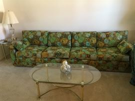 9 foot Vintage Howard Sofa