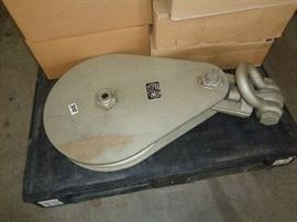 "USA made 18"" Pulley 20,000lbs"