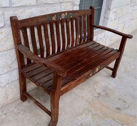 Outdoor Porch Bench