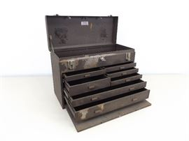 Vintage Kennedy Machinists Tool Box with Key